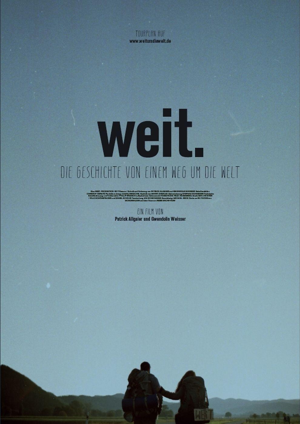 Weit. Ein Weg um die Welt (Poster)