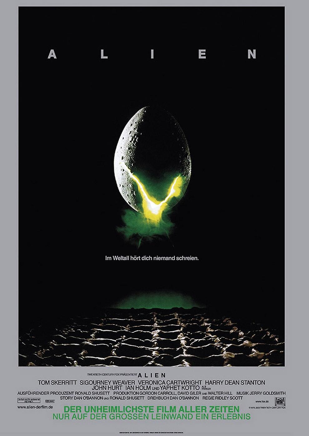 Alien - Das unheimliche Wesen aus einer fremden Welt (Poster)