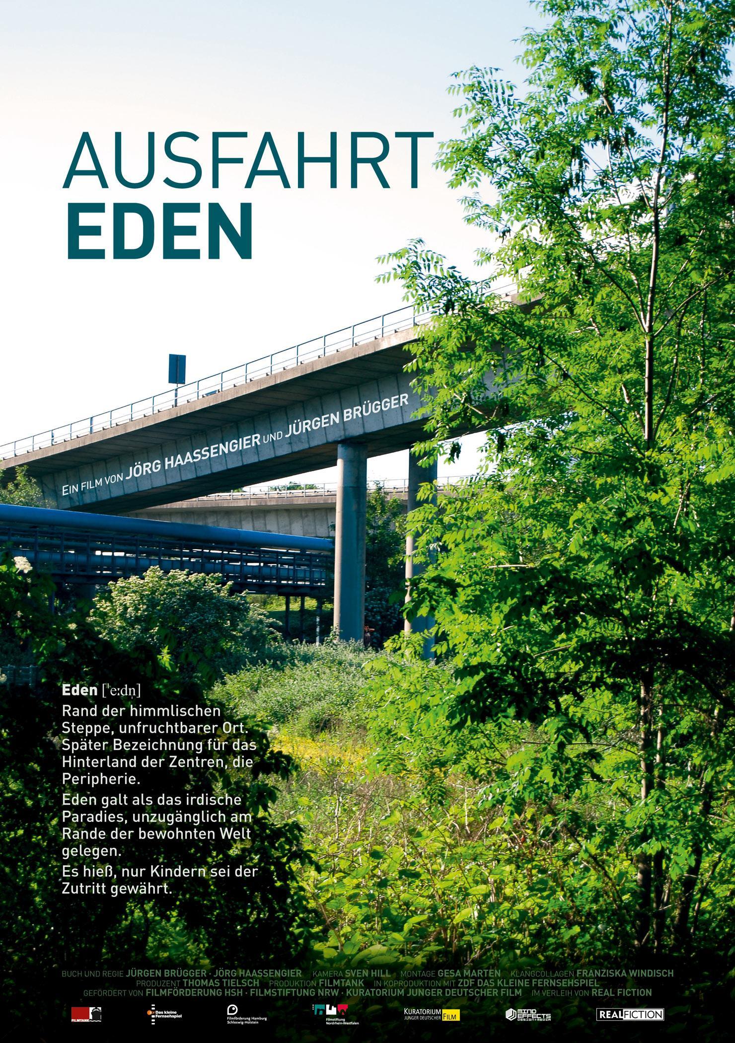 Ausfahrt Eden (Poster)