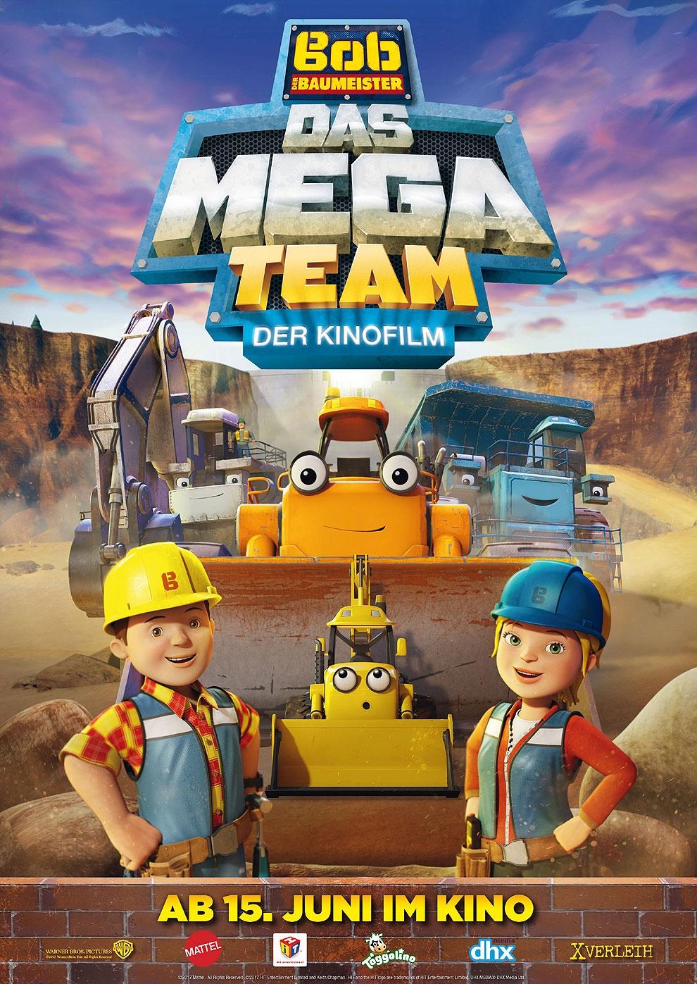 Bob der Baumeister - Das Mega Team - Der Kinofilm (Poster)