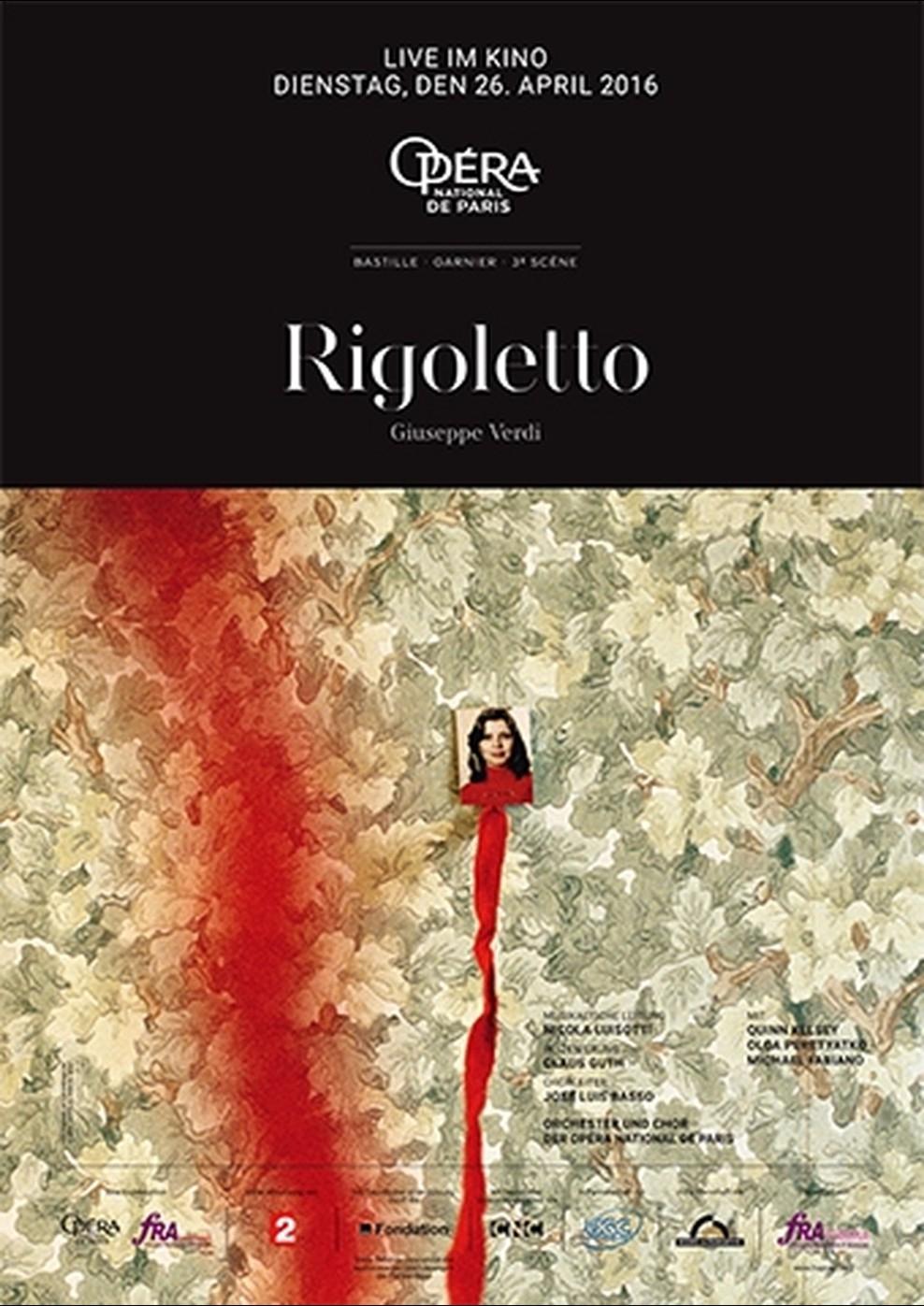 Opéra national de Paris 2015/2016: Rigoletto (Poster)