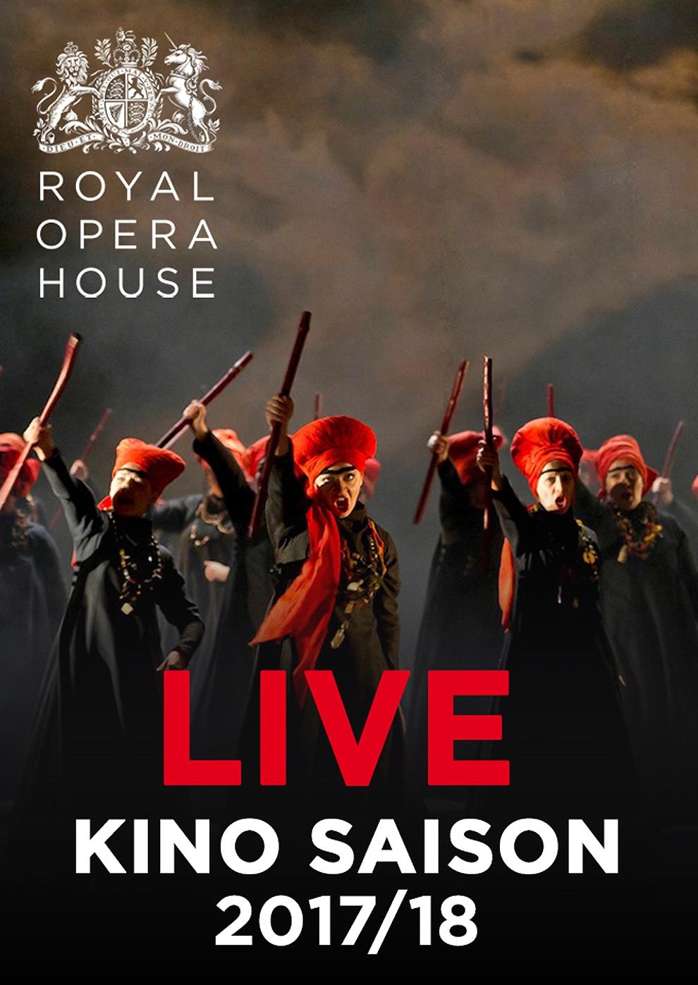 Royal Opera House 2017/18: Macbeth (Poster)