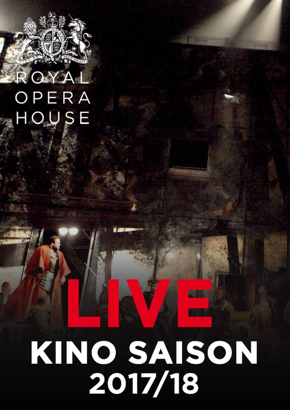 Royal Opera House 2017/18: Rigoletto (Poster)