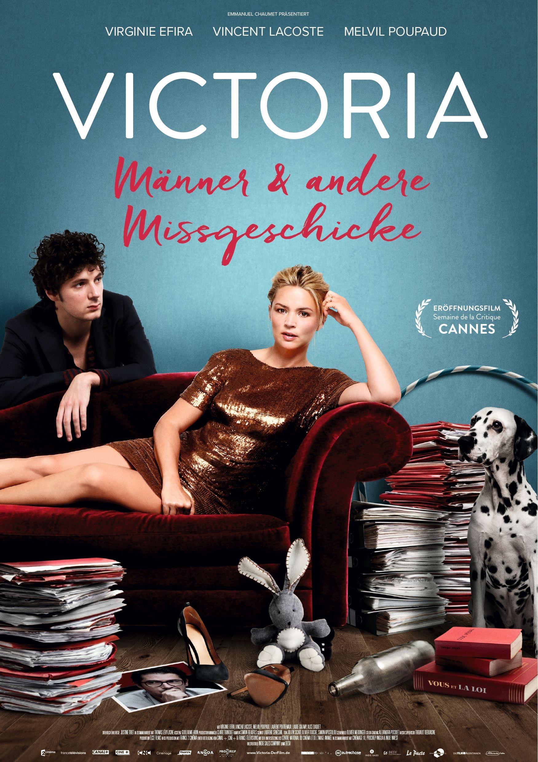 Victoria - Männer und andere Missgeschicke (Poster)