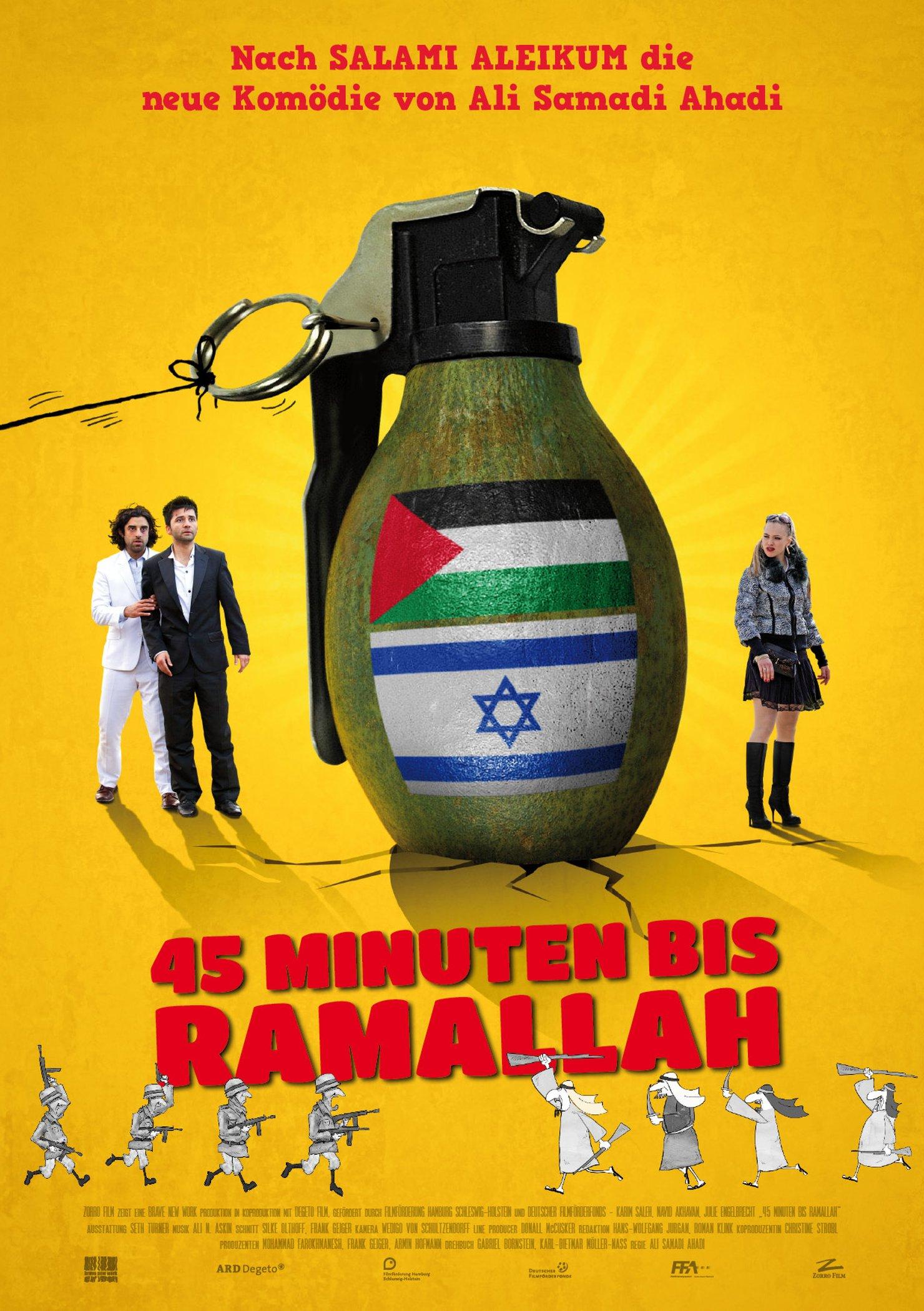 45 Minuten bis Ramallah (Poster)