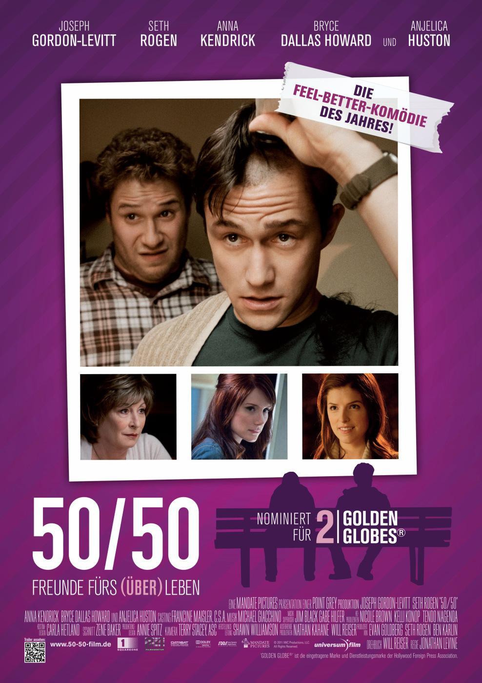 50/50 - Freunde fürs Über(leben) (Poster)