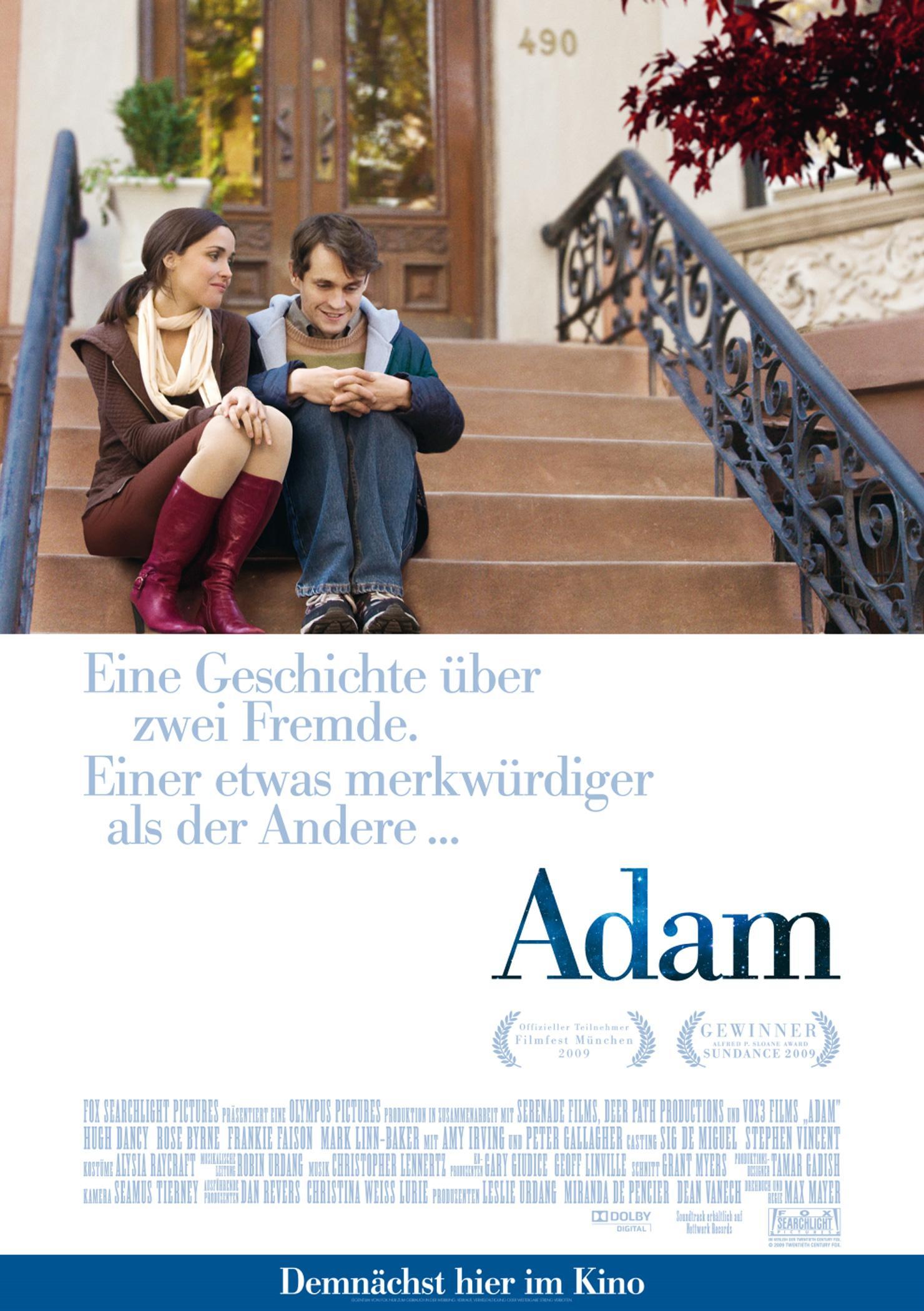 Adam - Eine Geschichte über zwei Fremde. Einer etwas merkwürdiger als der Andere (Poster)