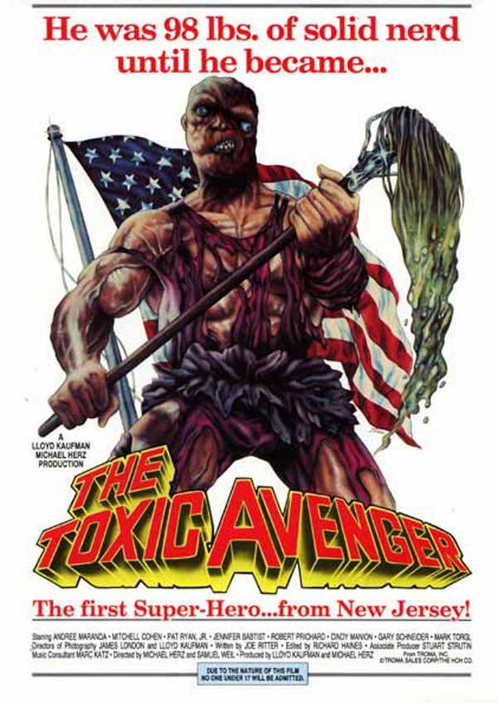 Atomic Hero - The Toxic Avenger (Poster)