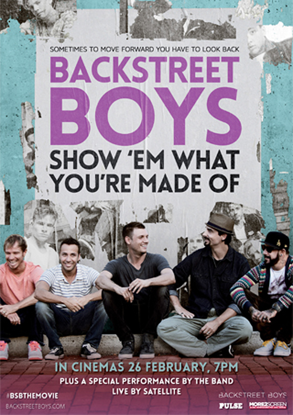 Backstreet Boys - Show 'Em What You're Made Of (Poster)