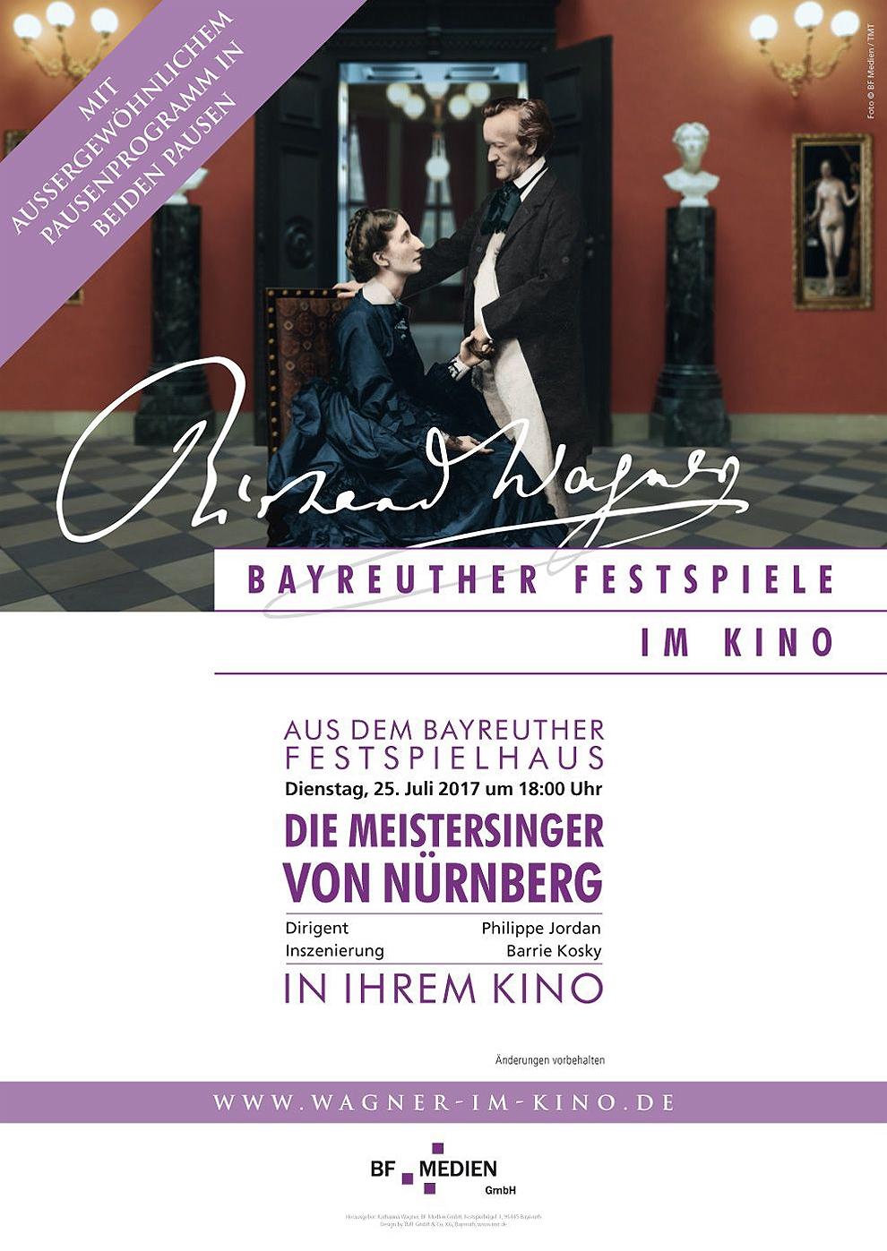 Bayreuther Festspiele: Meistersinger 2017 (Poster)