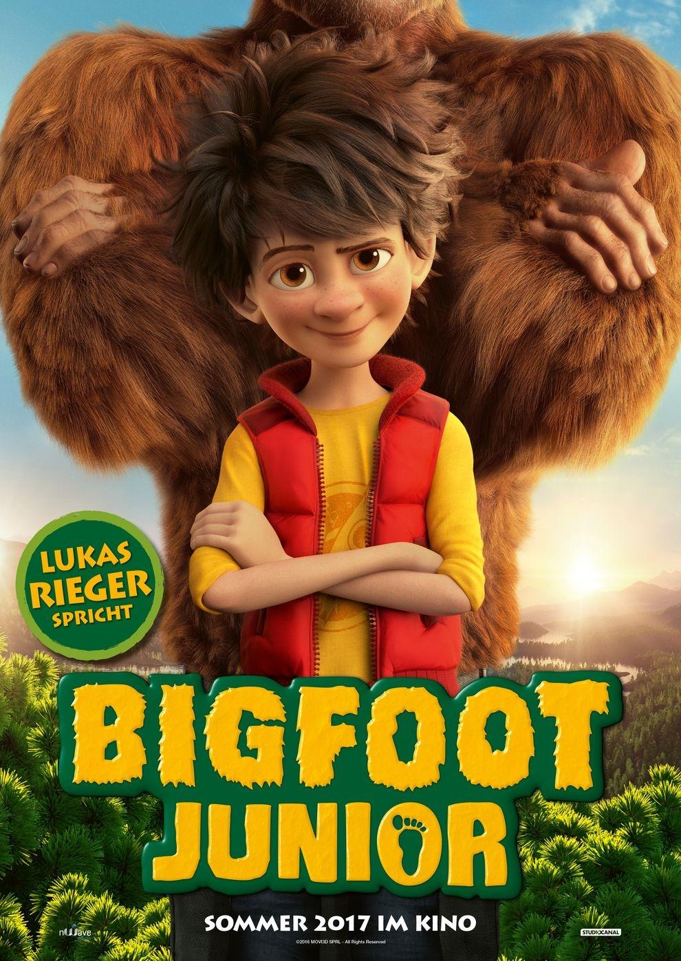 Bigfoot Junior (Poster)