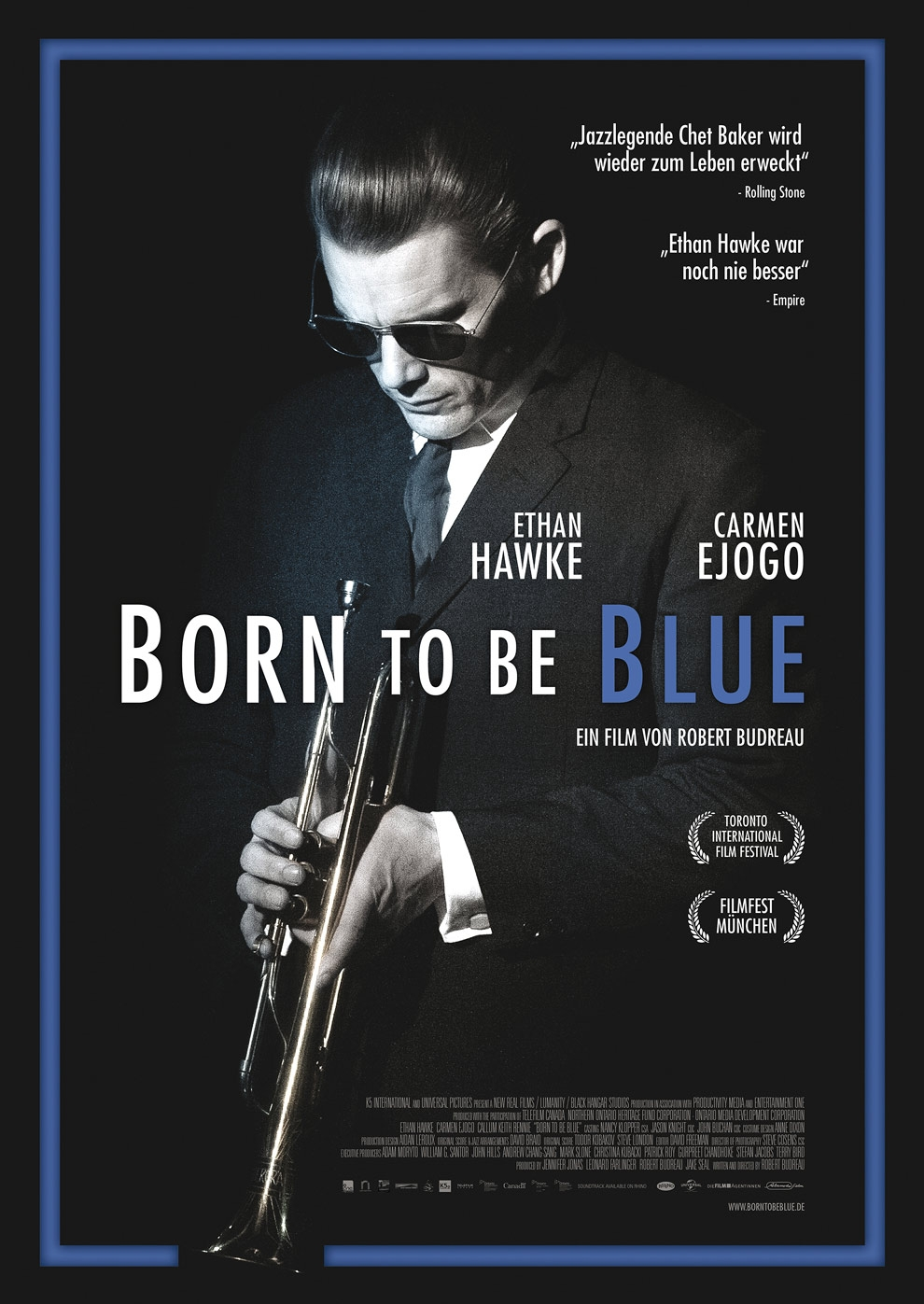 Born To Be Blue (Poster)