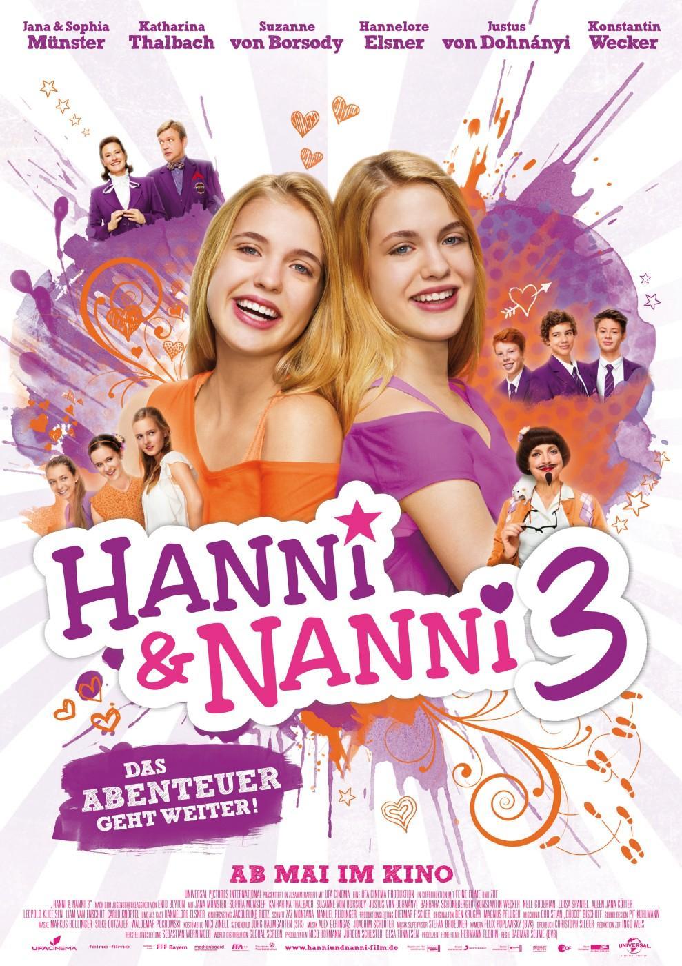 Hanni & Nanni 3 (Poster)