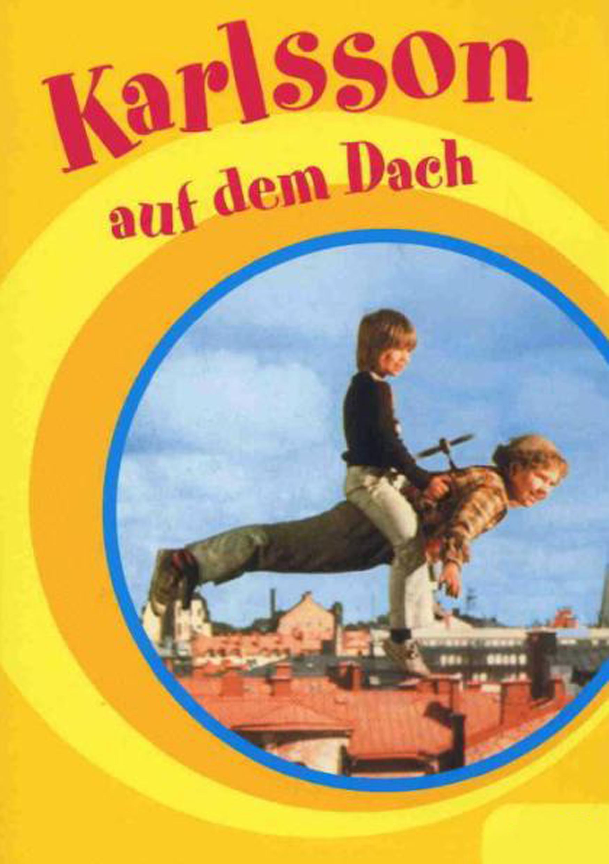 Karlsson auf dem Dach (Poster)