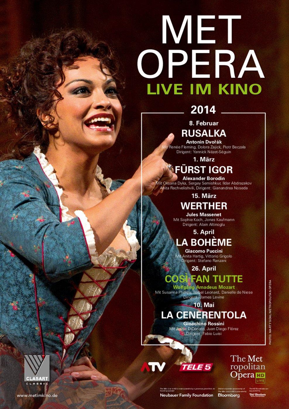MET Opera: Cosi Fan Tutte (Poster)