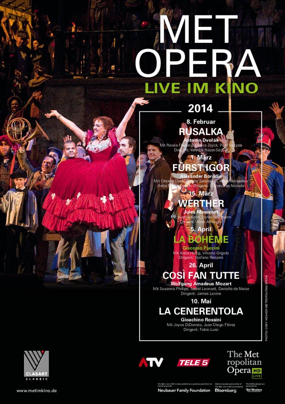 MET Opera: La Bohème (Poster)