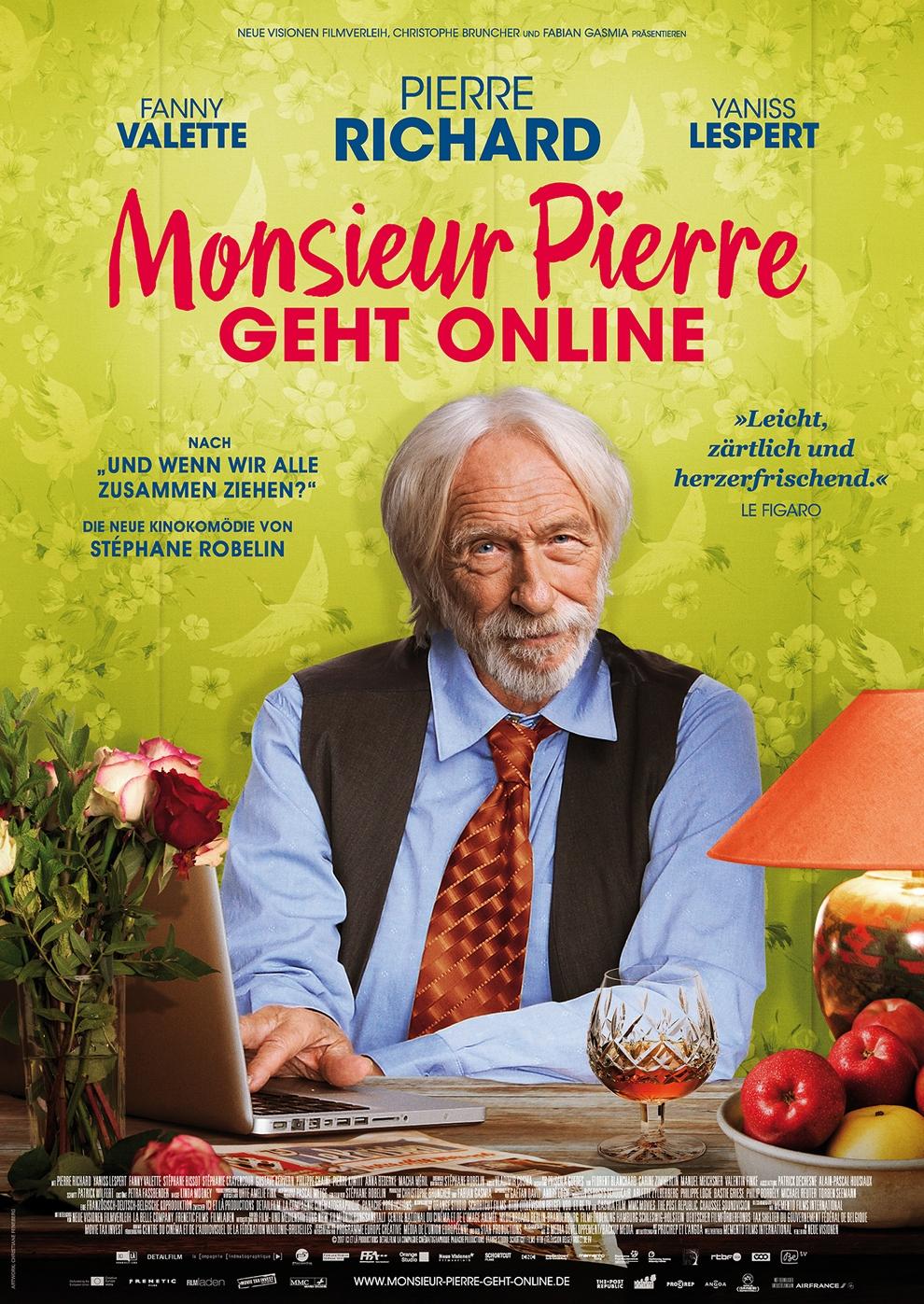 Monsieur Pierre geht online (Poster)