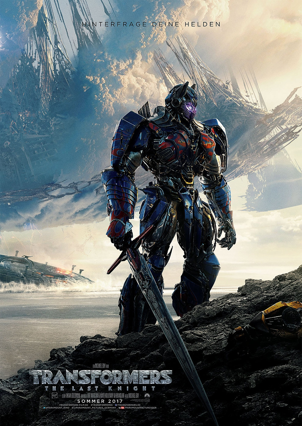 Transformers 5: The Last Knight (Poster)