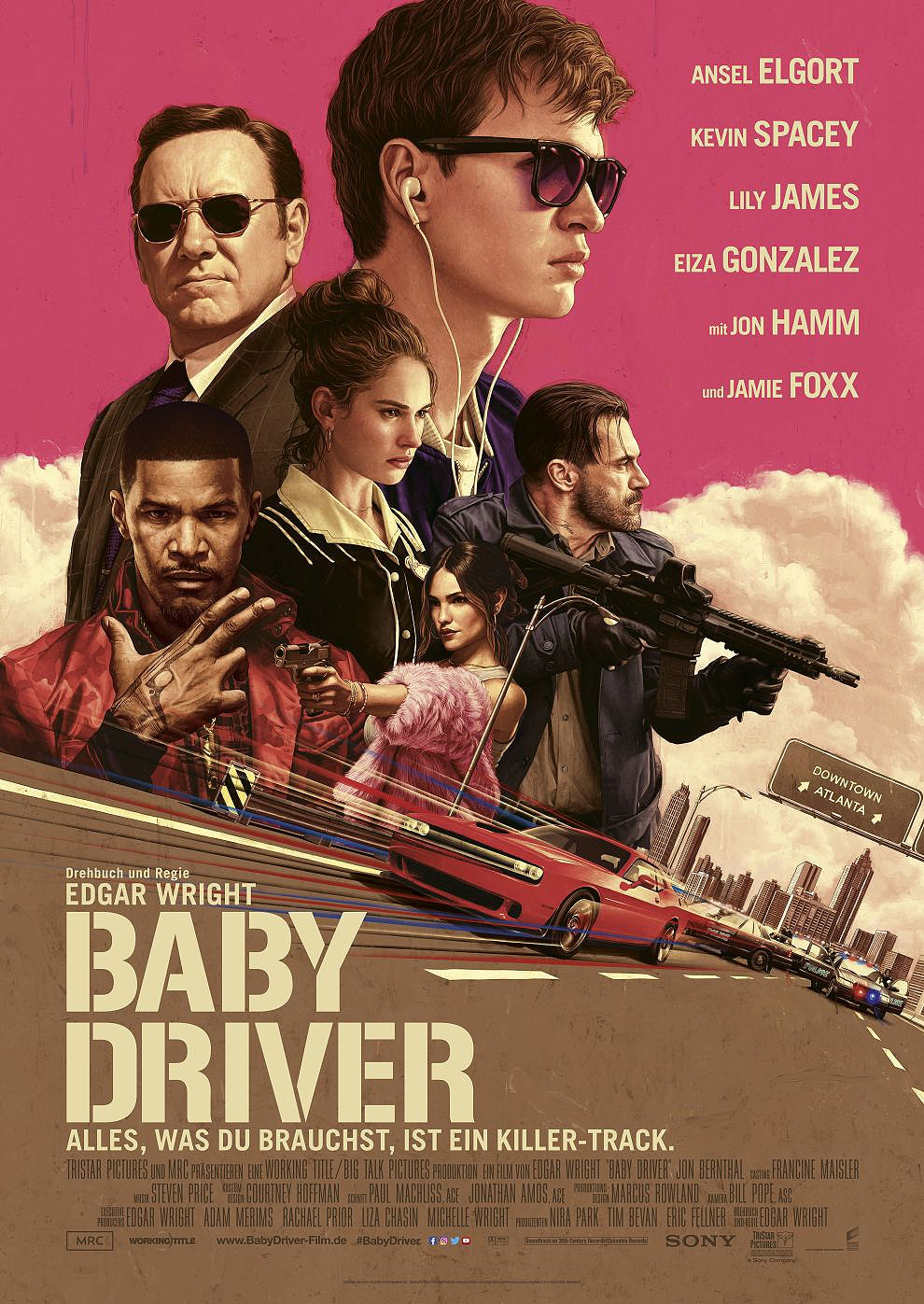 Baby Driver (Poster)