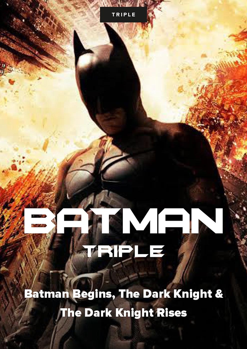 Batman Triple (Poster)
