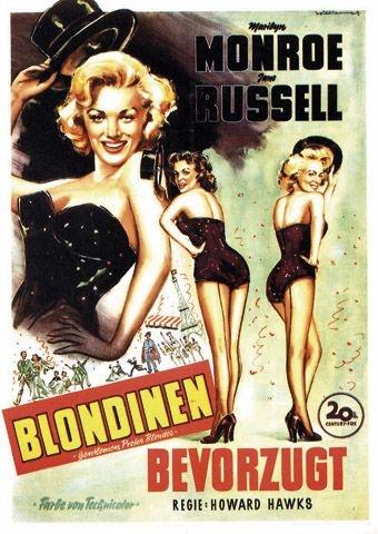 Blondinen bevorzugt (Poster)