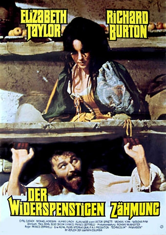 Der Widerspenstigen Zähmung (Poster)