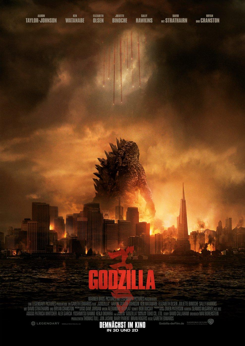 Godzilla (2014) (Poster)