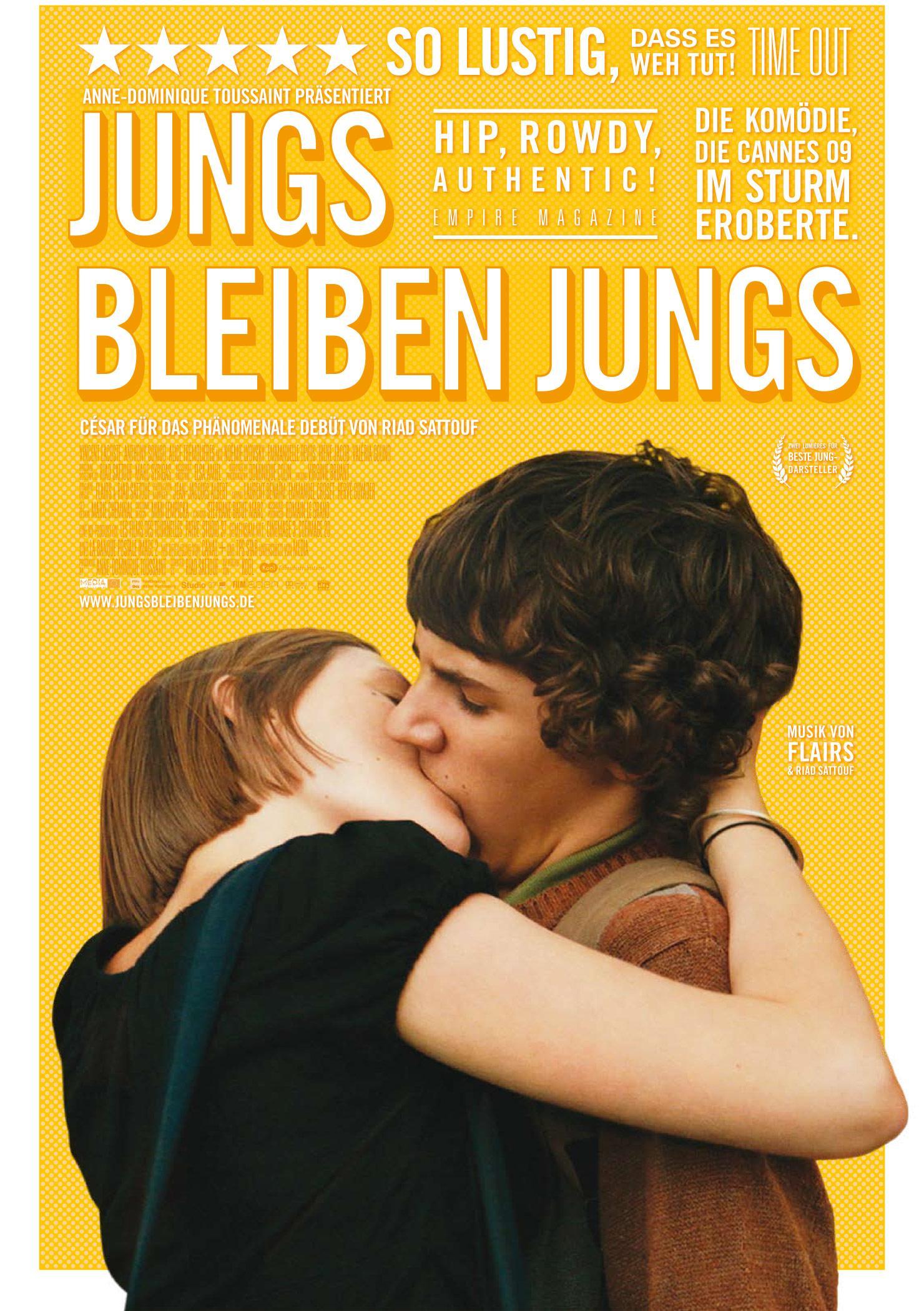 Jungs bleiben Jungs (Poster)