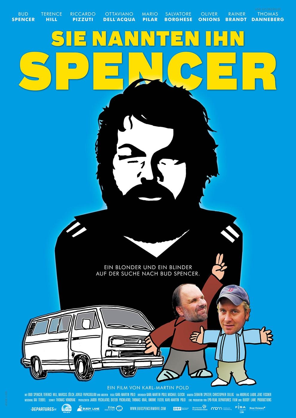 Sie nannten ihn Spencer (Poster)