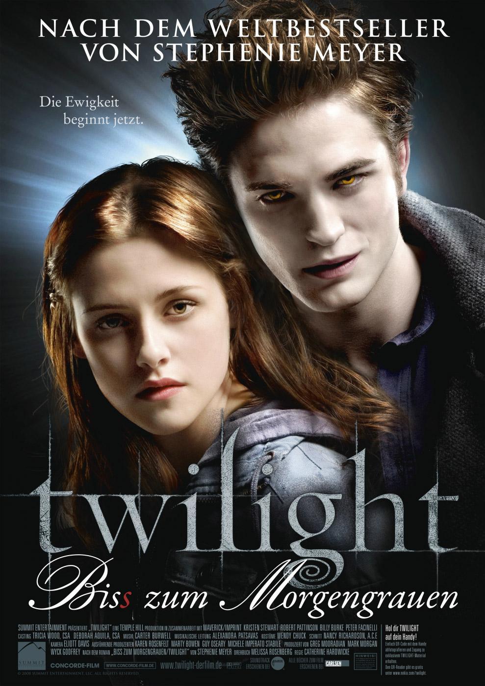 Twilight - Biss zum Morgengrauen (Poster)