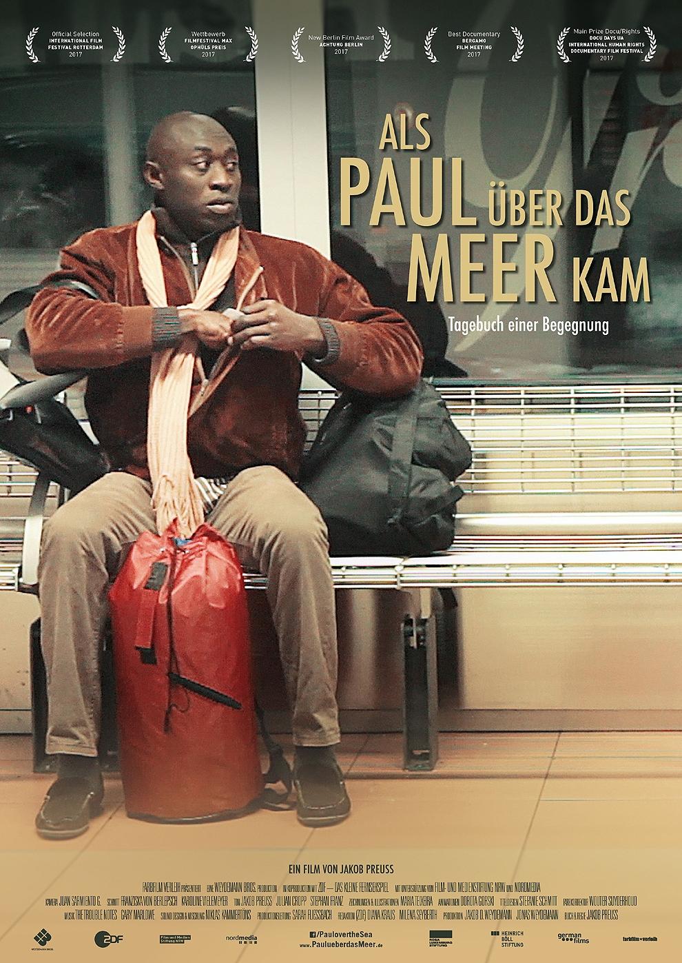 Als Paul über das Meer kam (Poster)