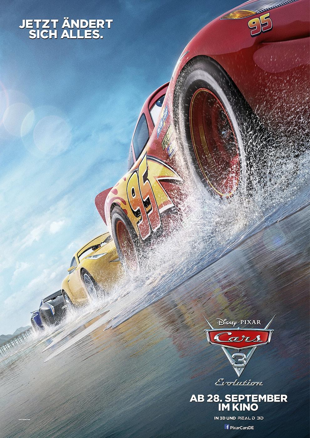 Cars 3 - Evolution (Poster)