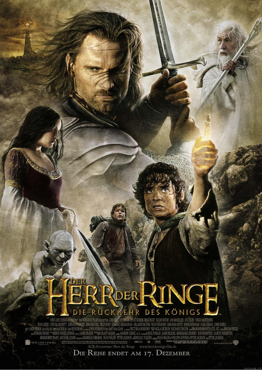 Der Herr der Ringe - Die Rückkehr des Königs (Poster)