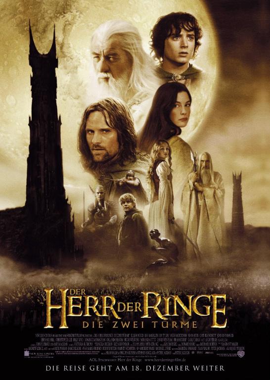 Der Herr der Ringe - Die zwei Türme (Poster)