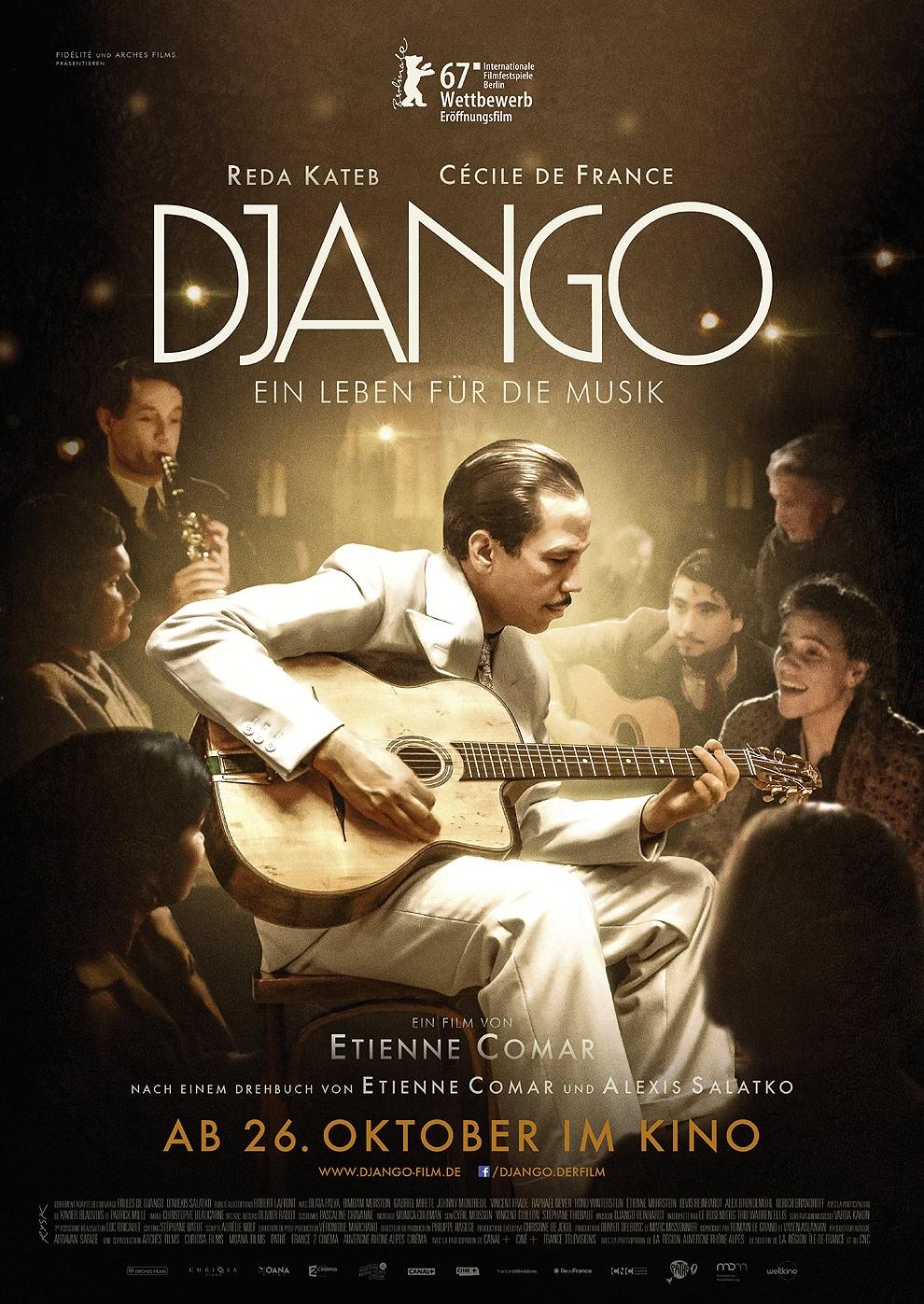 Django - Ein Leben für die Musik (Poster)