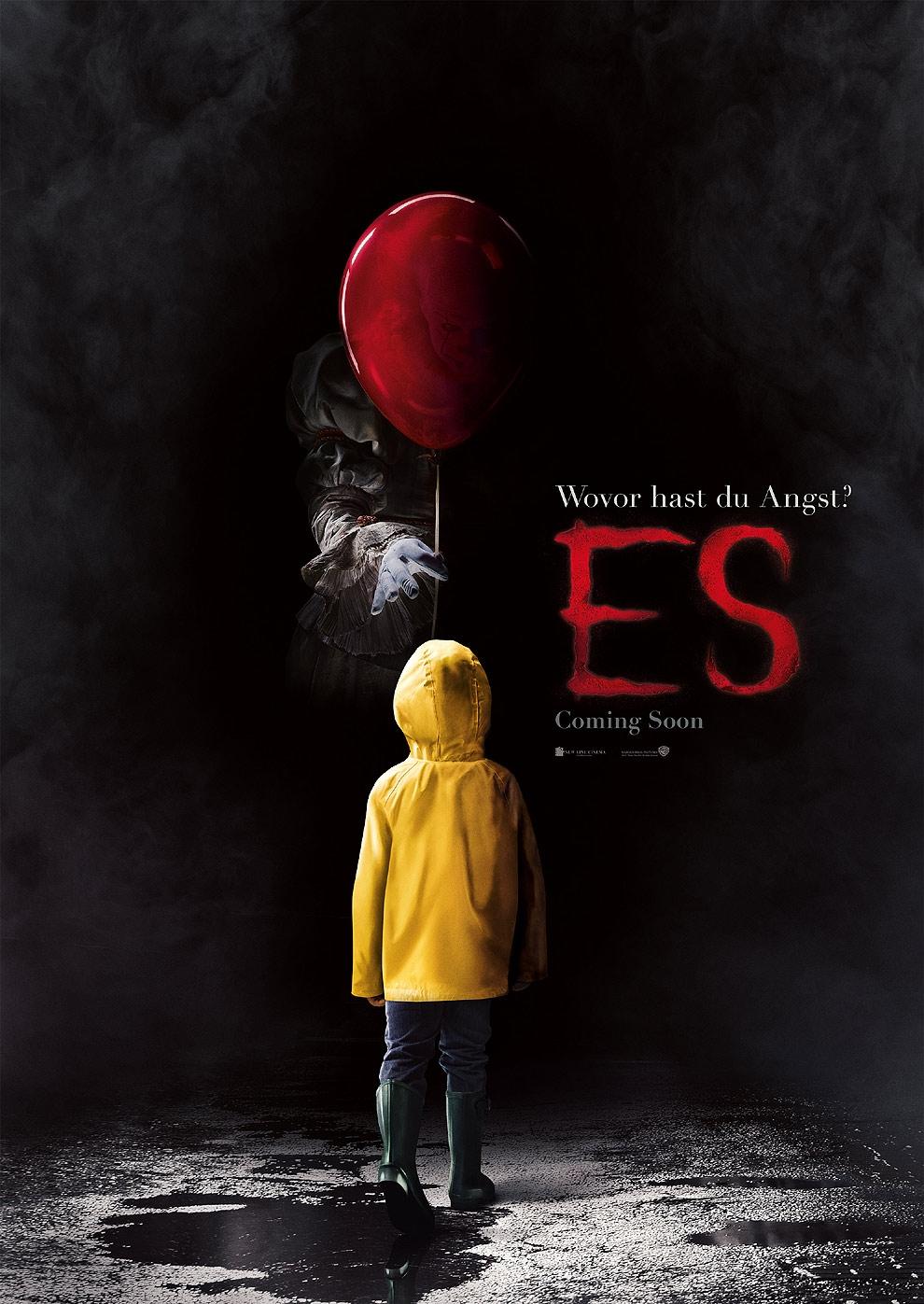 Es (2017) (Poster)