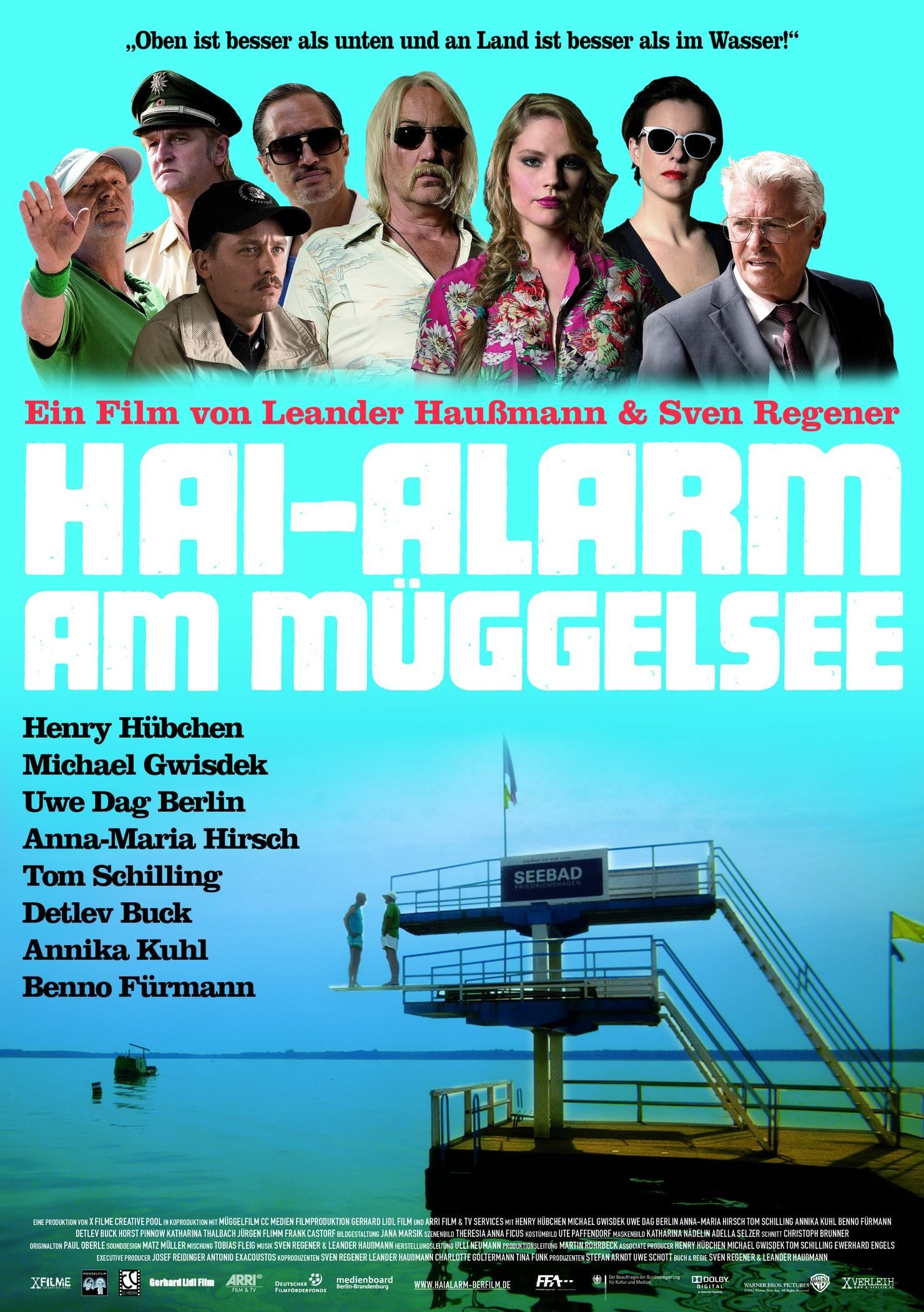 Hai-Alarm am Müggelsee (Poster)