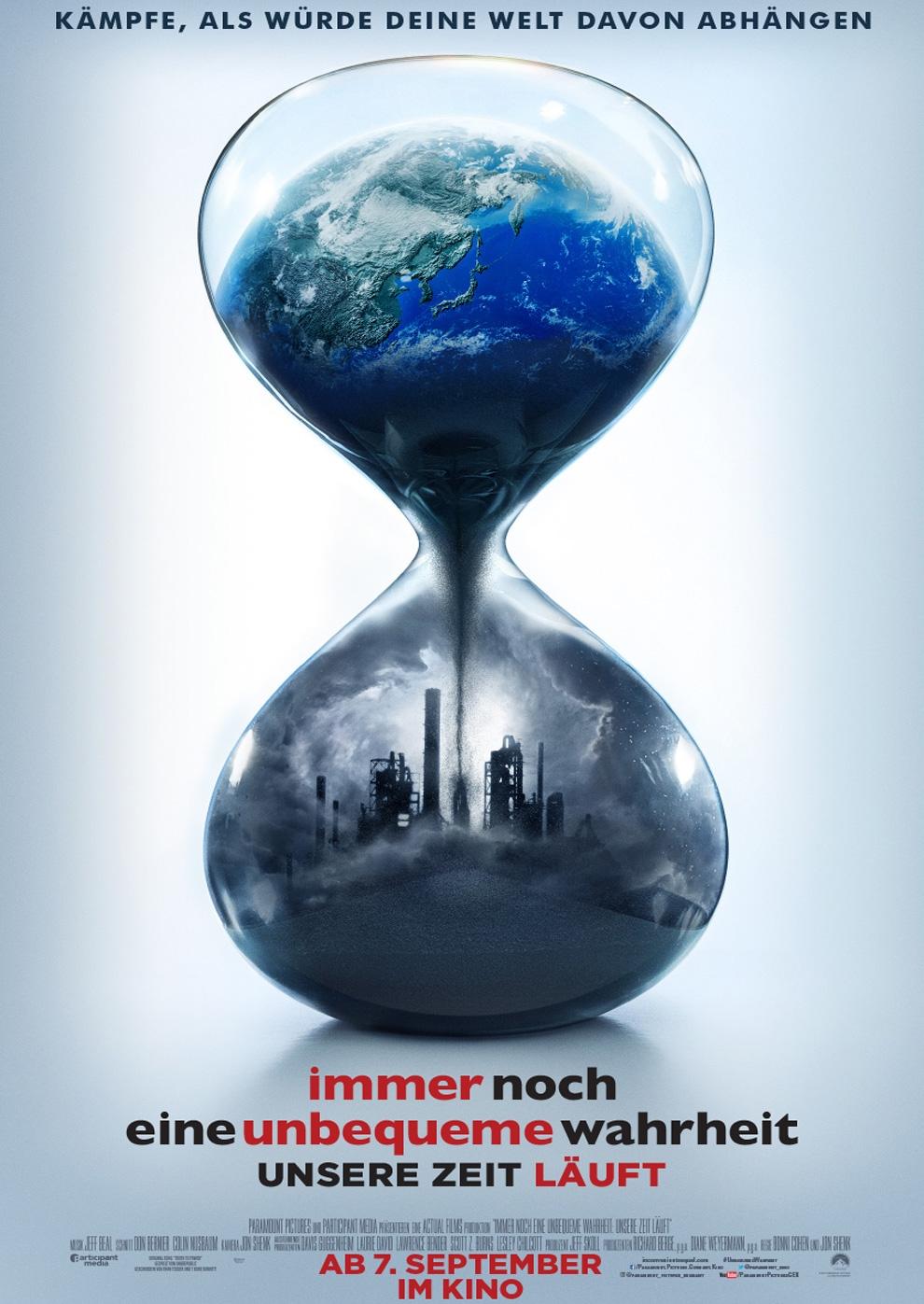 Immer noch eine unbequeme Wahrheit - Unsere Zeit läuft (Poster)