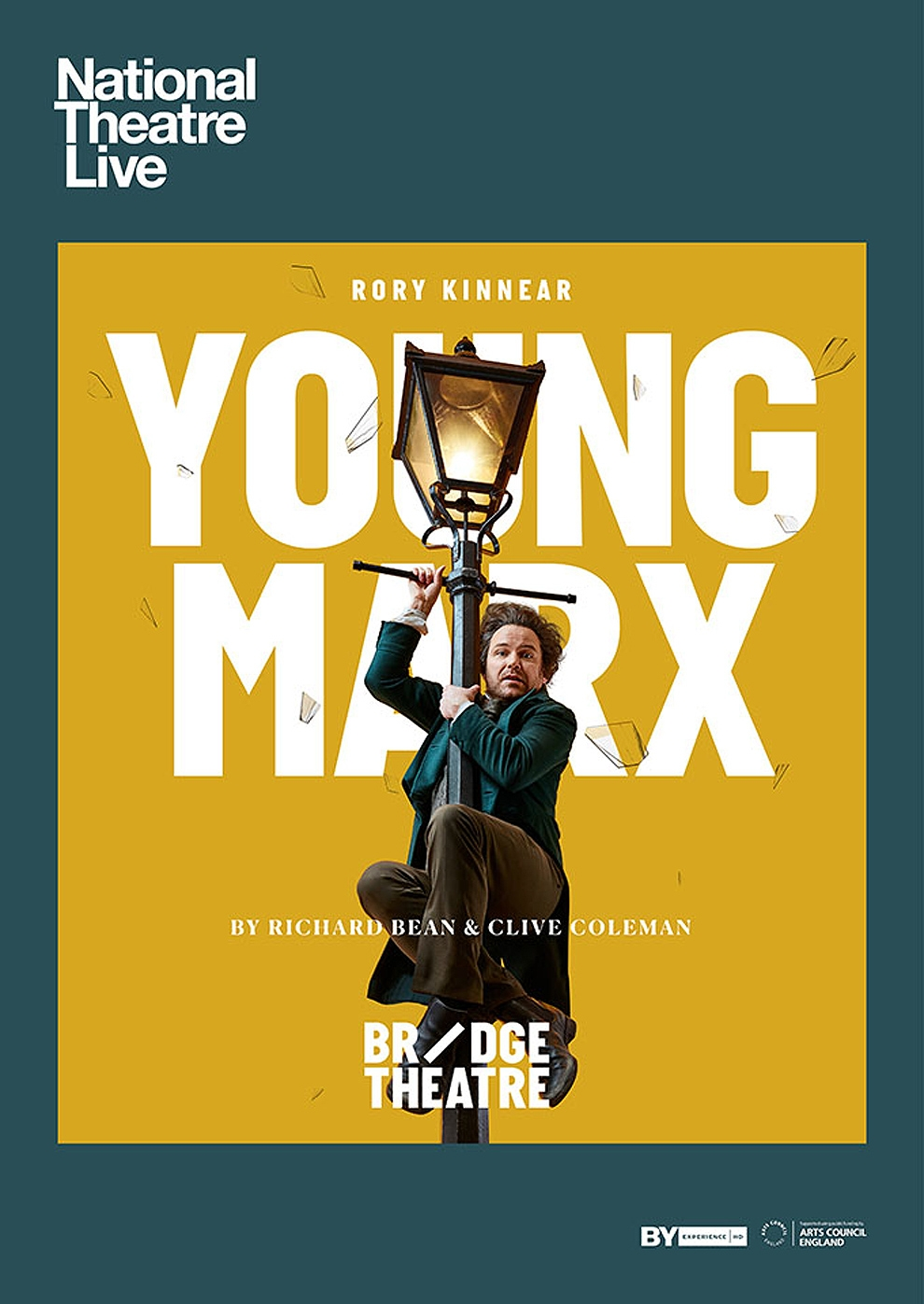 National Theatre London: Young Marx (Poster)