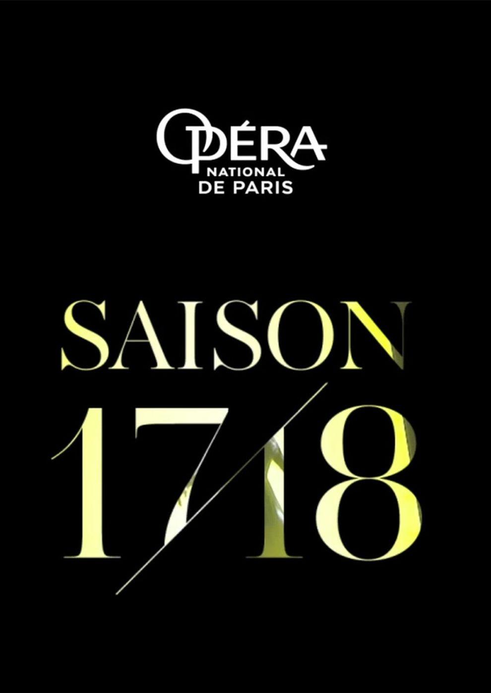 Opéra national de Paris 2017/18: La Bohème (Poster)