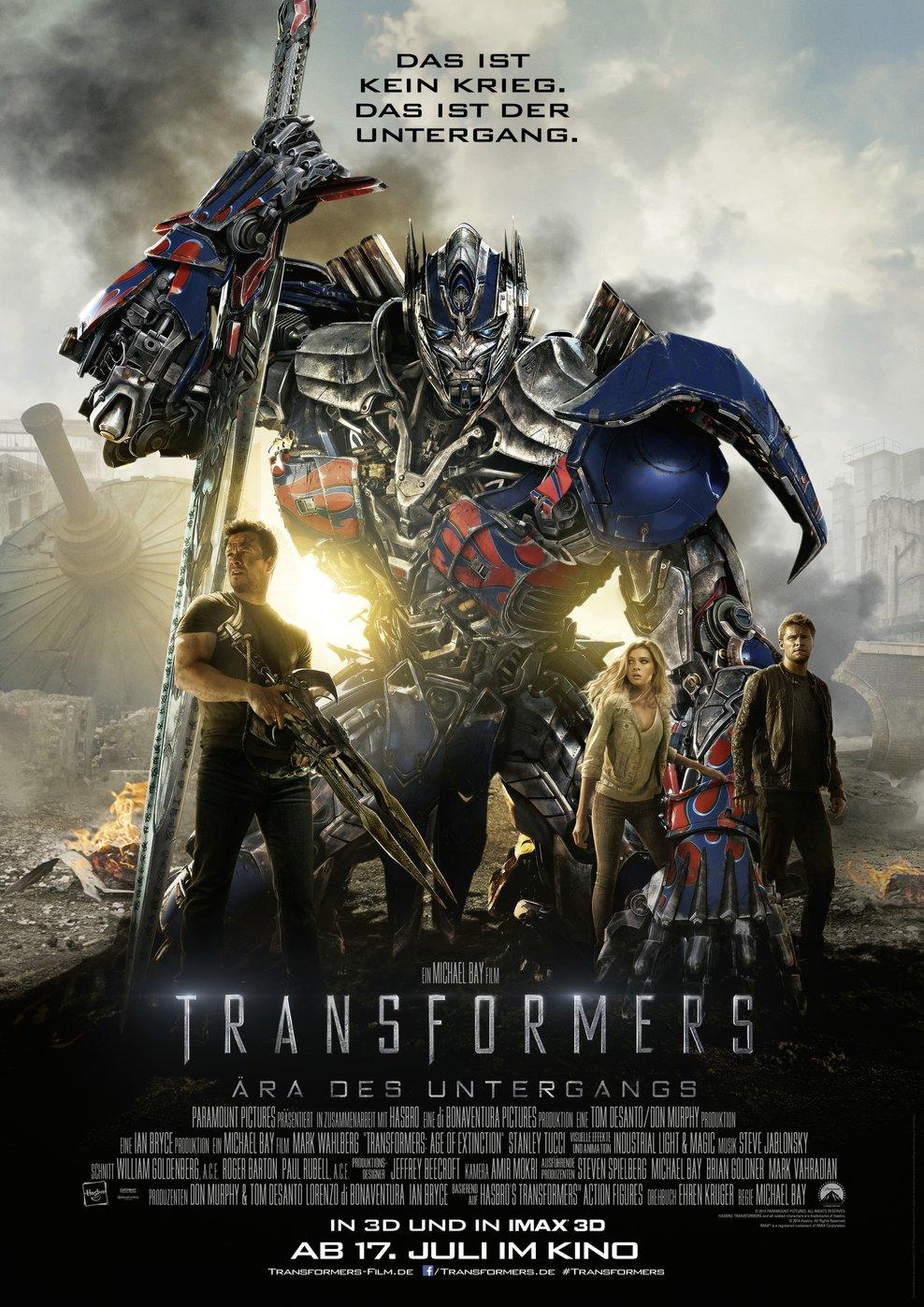 Transformers: Ära des Untergangs (Poster)