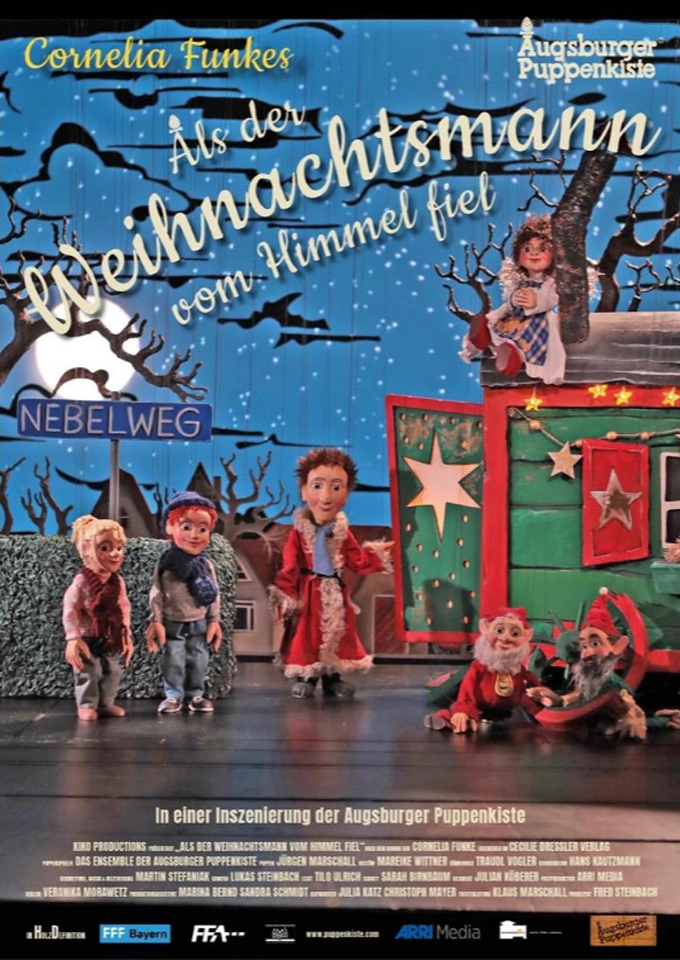 Als der Weihnachtsmann vom Himmel fiel - Augsburger Puppenkiste (Poster)