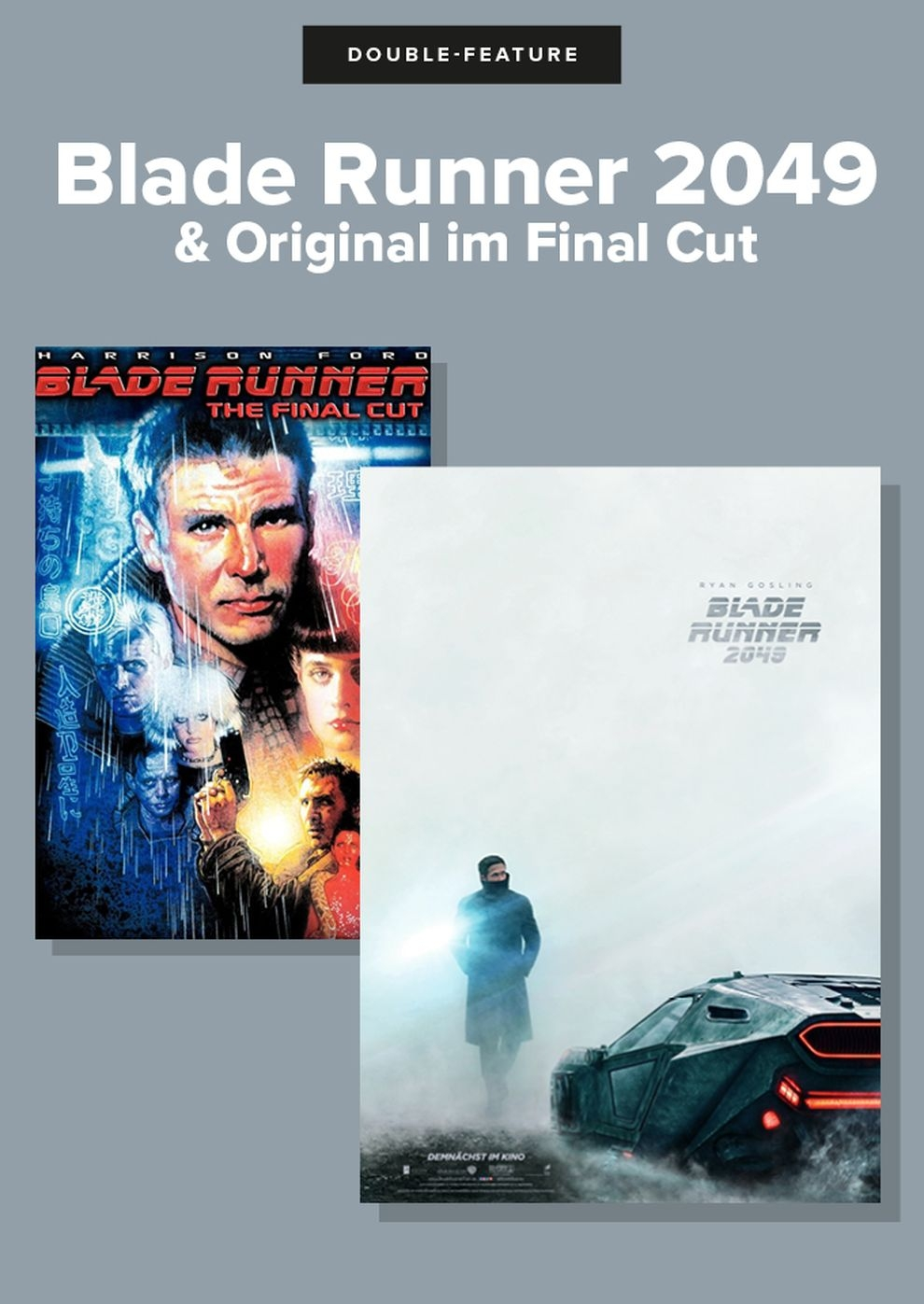 Double Feature: Blade Runner (Poster)