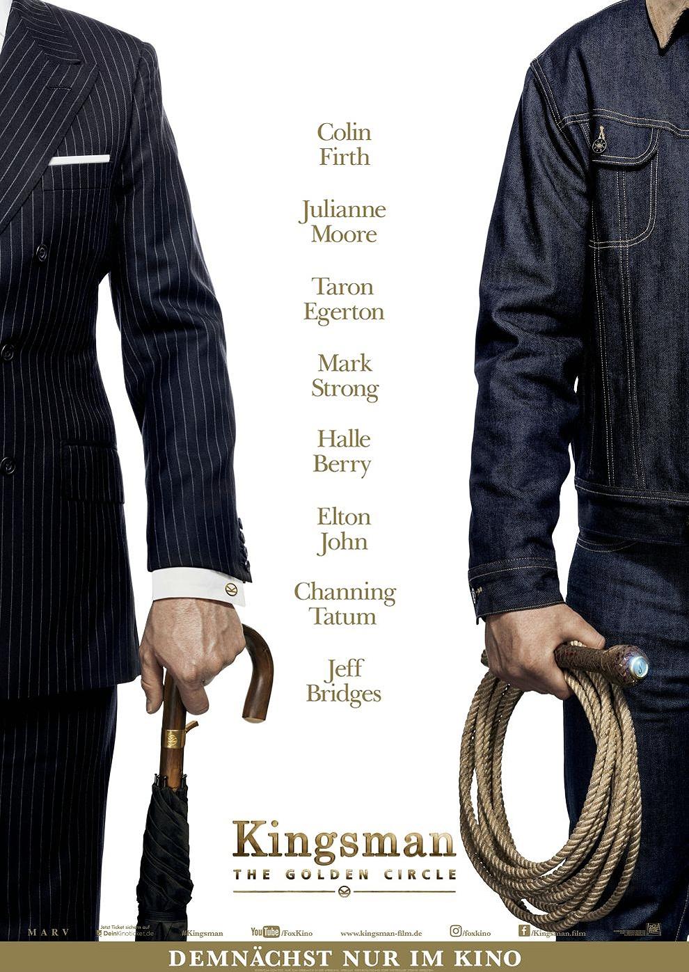 Kingsman - The Golden Circle (Poster)