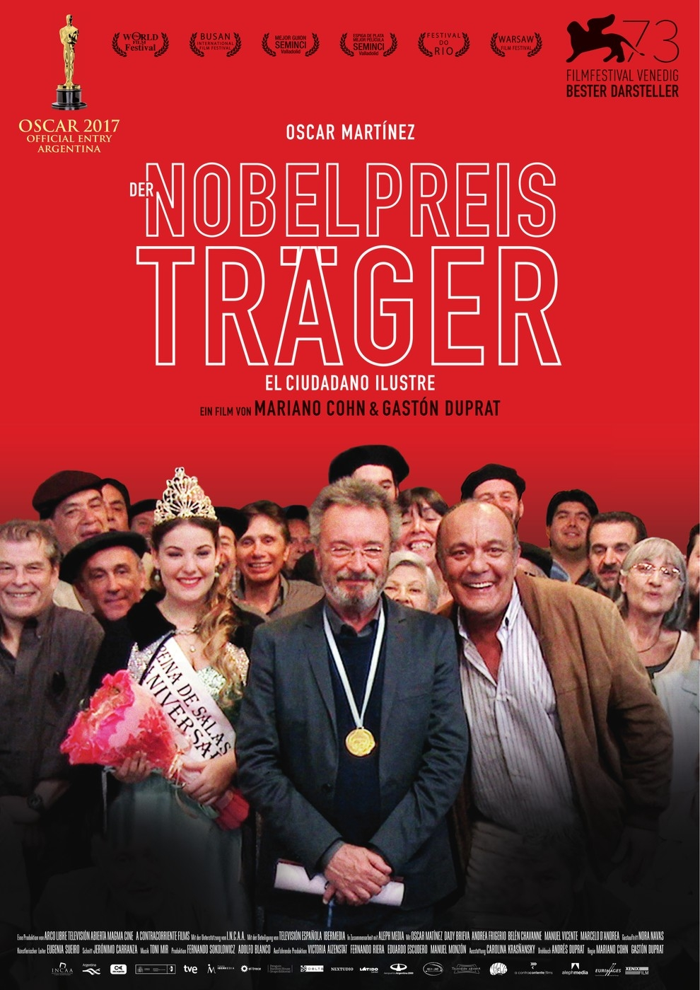 Der Nobelpreisträger - El ciudadano ilustre (Poster)