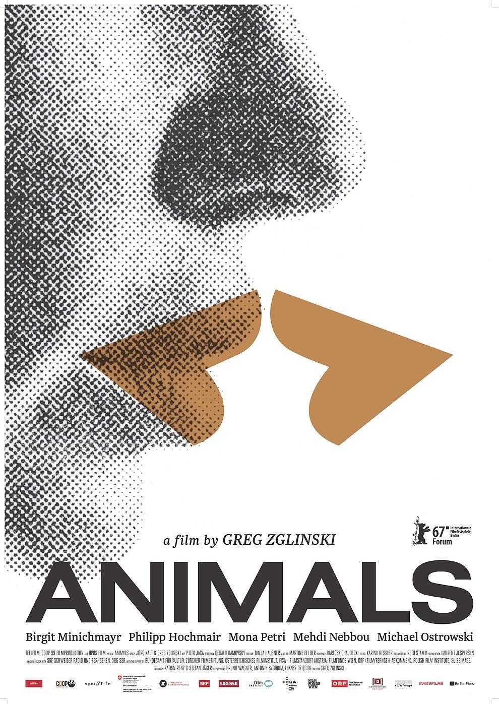 Animals - Stadt Land Tier (Poster)