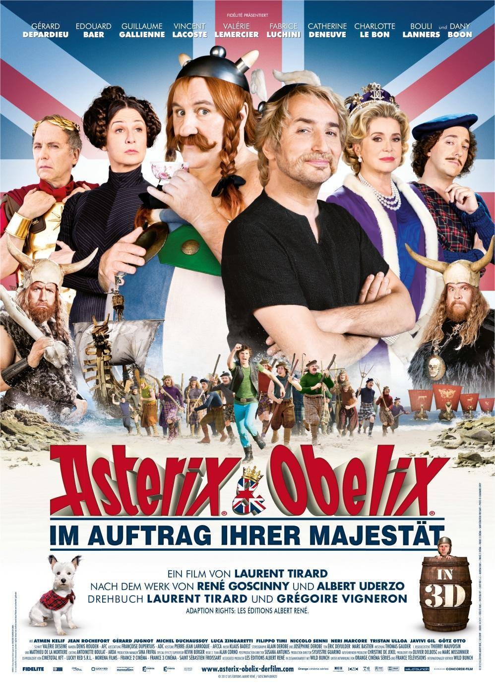 Asterix & Obelix - Im Auftrag Ihrer Majestät (Poster)