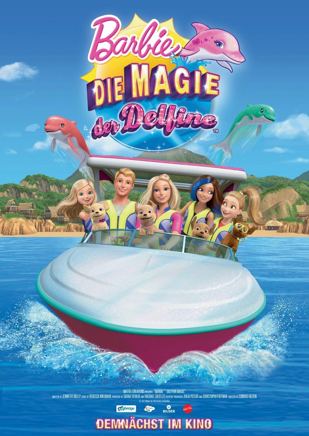 Barbie - Die Magie der Delfine (Poster)