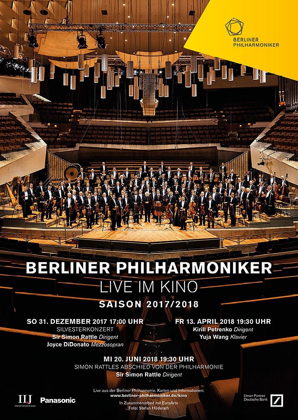 Berliner Philharmoniker Silvesterkonzert 2017 (Poster)