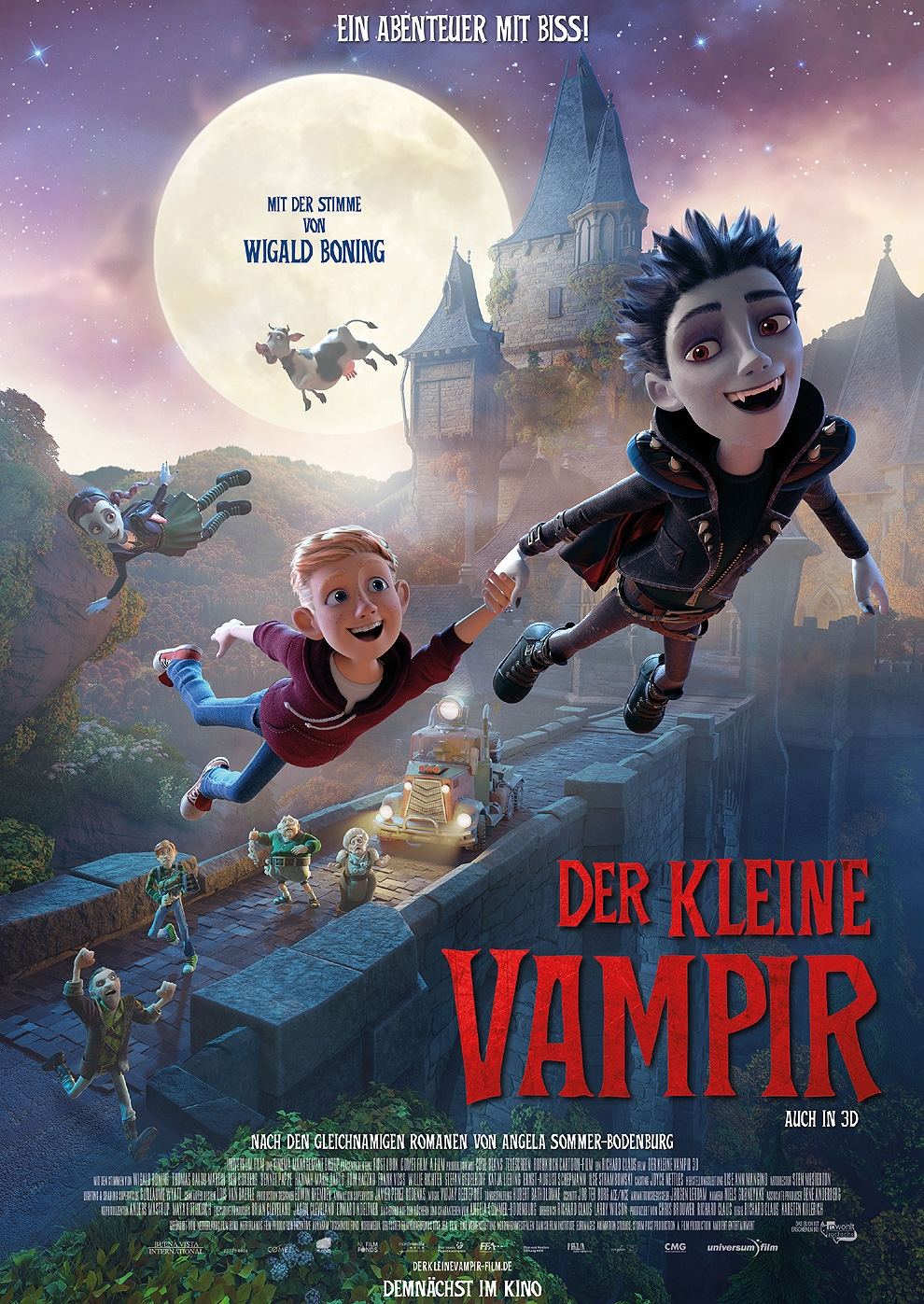 Der kleine Vampir (2017) (Poster)